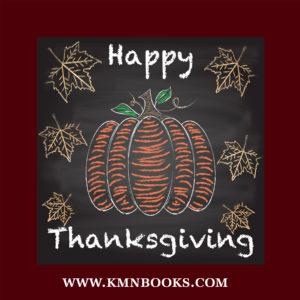 KMN Books Thanksgiving